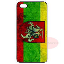Lithuania Lithuanian Flag Cover Case for LG iPhone 4S 5 5S 5C 6 6S Plus iPod Samsung S2 S3 S4 S5 Mini S6 Edge Plus Note 2 3 4 5