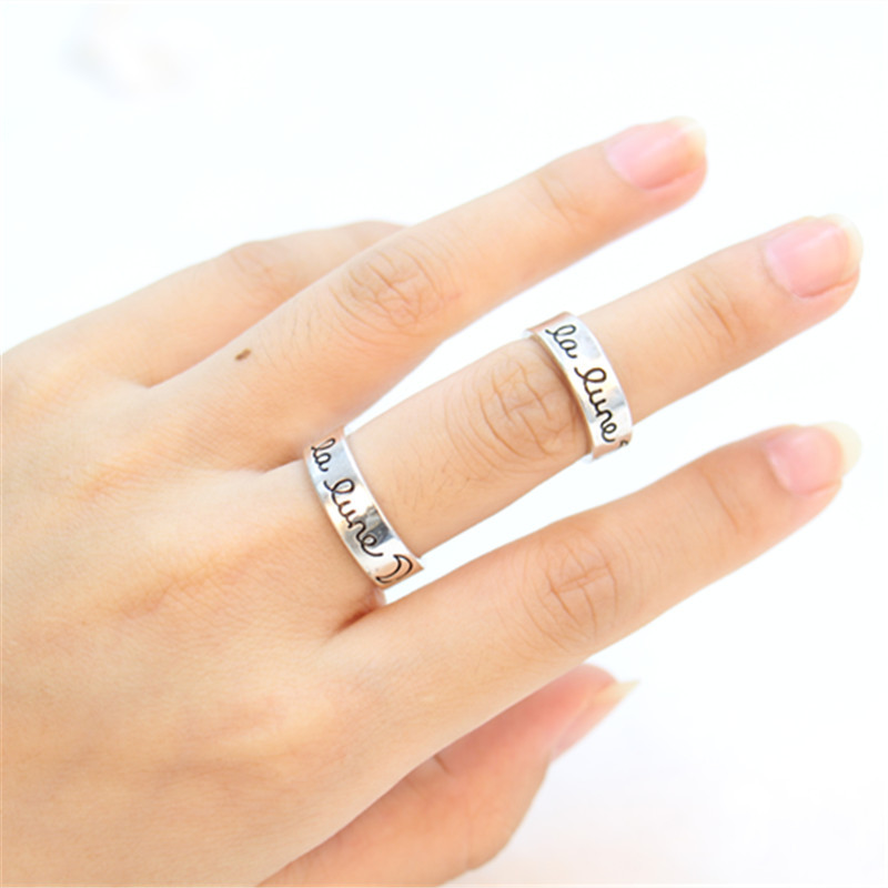 Size 4 LA Style Love Knuckle Ring in Heart-Shaped Box