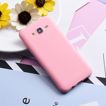 GrandEver Soft Silicone Case for Samsung Galaxy J5 2015 Trendy Candy Color Coque Fundas Back Cover for Galaxy J5 J500F Case(China)