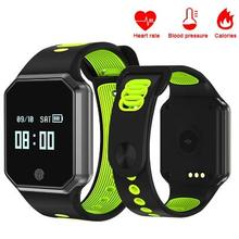 Buy QW11 Smart Wristband Blood pressure Sports Watch Heart Rate Smart Bracelet Pedometer Fitness tracker Smart band PK mi band 2 for $24.40 in AliExpress store