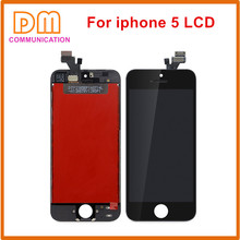 For Iphone 5 5C 5S 6 6S 7 LCD Display Touch Screen Front Glass Digitizer Glass assembly with Free 7 piece Toolkit