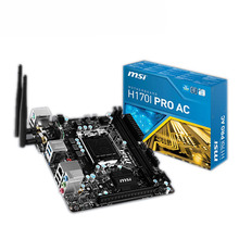 MSI H170I PRO AC game board Mini-ITX small motherboard with wireless WIFI