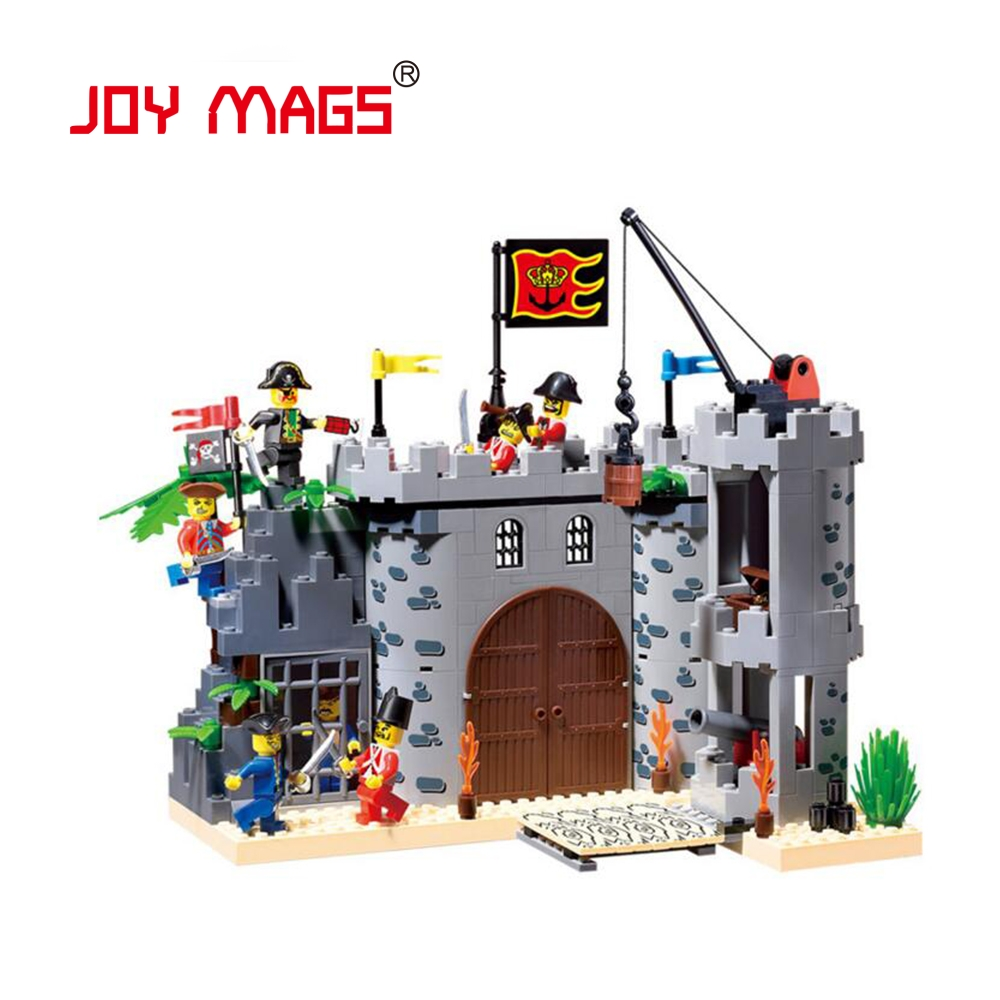JOY MAGS 310 City Pirate Castle 310 Blocks Educational Model &amp; Building Toys Hobbies for Children Building Blocks<br><br>Aliexpress