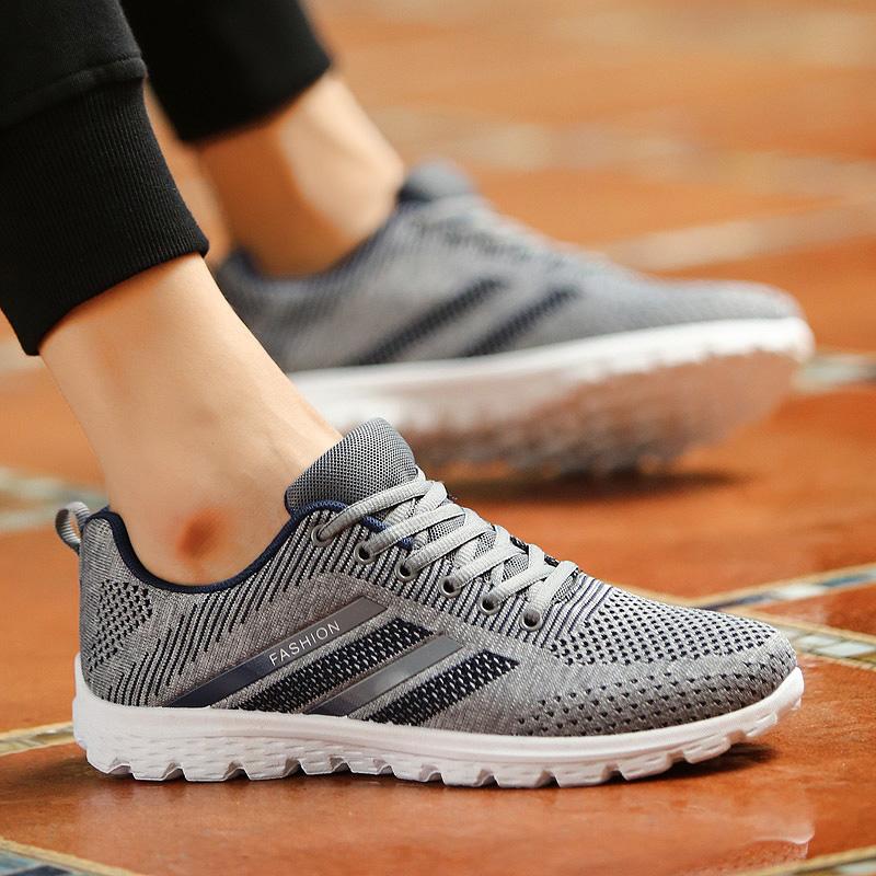 JYRhenium Sneakers Shoes Men Running Shoes 17 Lovers Outdoor Men Sneakers Sports Breathable Trainers Jogging Walking Shoes 40