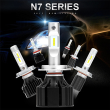 Buy 2017 NEWEST H7 H4 Hi/Lo Beam LED H1 H11 9005 9006 Car Headlight HB2 HB3 HB4 Auto Headlamp Bulb Car headlight 6000k Replace xenon for $38.42 in AliExpress store