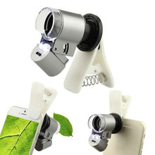 Latest Fashion Mobile Phone Lens Clear Optical Zoom Camera Microscope 65X Lens for Cell Phone(China)