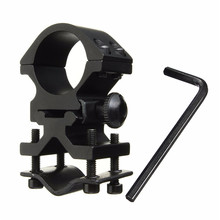 New! 25mm Ring and 20mm Rail Action Tactical Flashlight Laser Torch Surefire Barrel Streamlight Bracket Mount(China)
