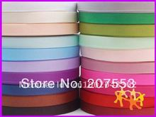 "Wholesale 3/8""(10mm) Solid Grosgrain Ribbon Lots 100YDS MIXED 20 COLOURS -Free Shipping."