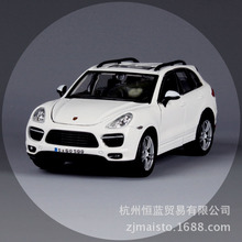 BBURAGO alloy car model 1:24 Porsch Cayenne Turbo simulation SUV car model Collection Diecast Toys Gifts for children