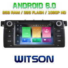 WITSON Octa-Core(Eight Core) Android 6.0 CAR DVD PLAYER FOR BMW E46 1998-2006 2G ROM 1080P TOUCH SCREEN 32GB Rom