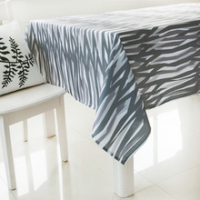 Black Stripe Table Cover Black Table Cover Outdoor Furniture Cover Party Tablecloth Covers For Dining Table