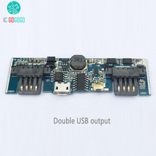 5V 2.1A 1A Power Bank Charger Module DIY Lithium Battery Charger Board Step Up Boost Power Lipo li-ion Charging Mobile Phone