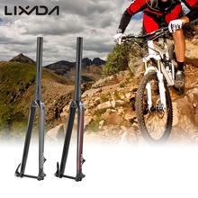 Lixada Ultralight Disc Brake Road Bike Fork 700C Tapered Carbon Fiber Fixed Gear Bicycle Cycling Fixie Front Fork
