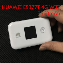 Original Unlock WiFi Router Huawei E5377 E5377T Portable 4G LTE Wireless Router 3560mAh