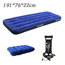 High quality  Hot salrs  INTEX 76*191*22CM single size air mattress  inflatable bed,camping mattress, airbed, camping bed