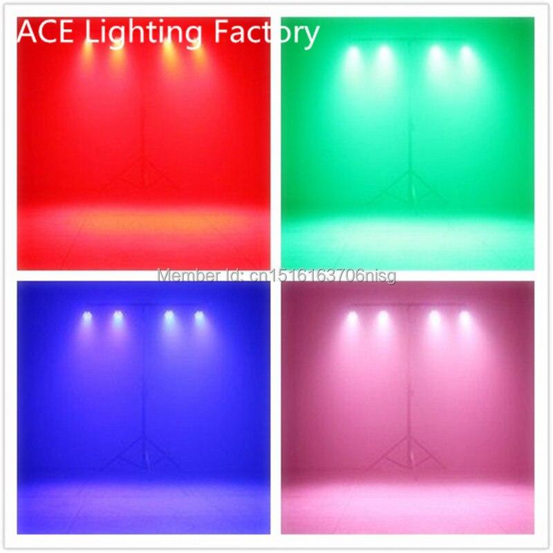4pcs/lot Free&amp;Fast shipping stage lights led par quad 7x12w wash dmx par light american dj par rgbw 4in1 dmx led flat par light<br>
