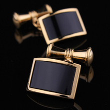 Free shipping Novelty Cufflinks 2 colors option funny chain design with hotsale copper material cufflinks whoelsale&retail(China)