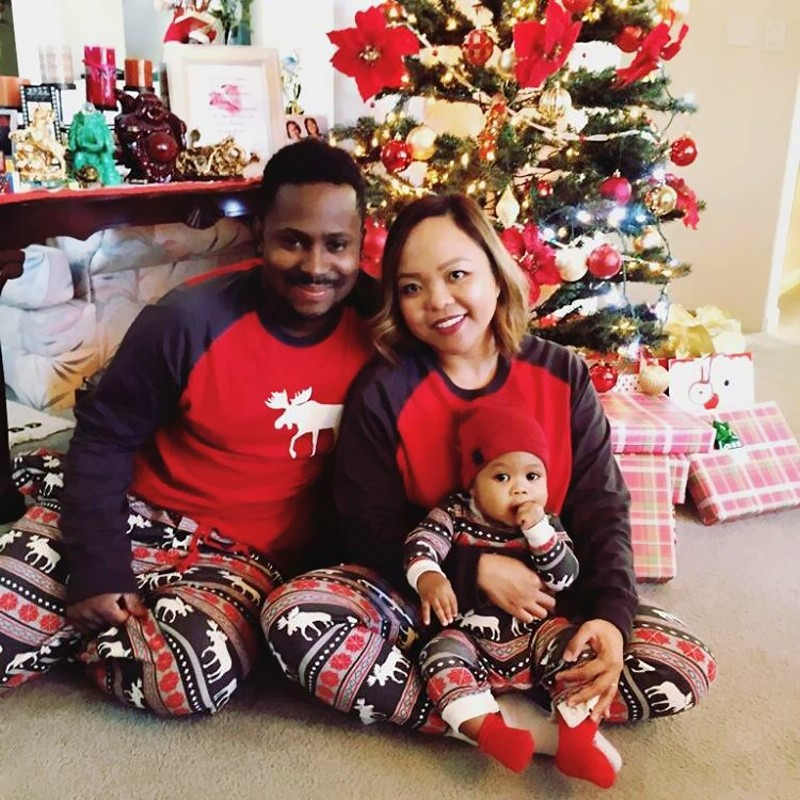 Moose Themed Winter Pajamas (Matching Family Set) - BeBeBuy f7d49bf37