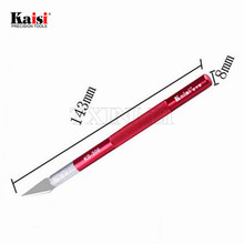 Kaisi Precision Cutting Art Knife Chisel Cutter for Stenciling Etching Scrapbooking Carving film tools Hand Repair Tools KS-306