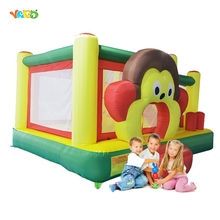 YARD Monkey Mini Inflatable Jumper Jumping Bouncer Trampoline Moonwalk Kids Inflatable Toys Outdoor Sport Game
