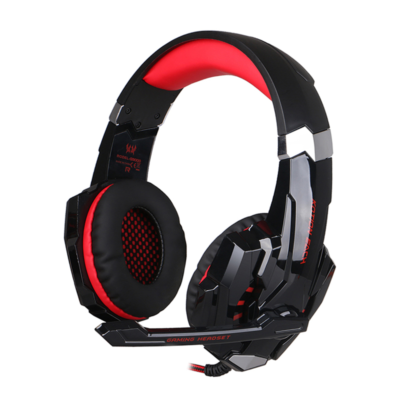 RACAHOO EACH G9000 3.5mm Gaming Headset Gaming Headset Earphone With Mic Led To Laptop Tablet / PS4 / Mobile phones<br><br>Aliexpress