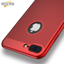KISSCASE Phone Case For iPhone 7 6 5s 6s 5 SE Phone Cases 6 6S 7 Plus Luxury Breathe Freely Case For Samsung Galaxy S8 S8+ Plus