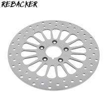 Rebacker Motorcycle 292mm Front Brake Rotor For Harley Road King Road Glide Dyna Street Bob 2000-2007