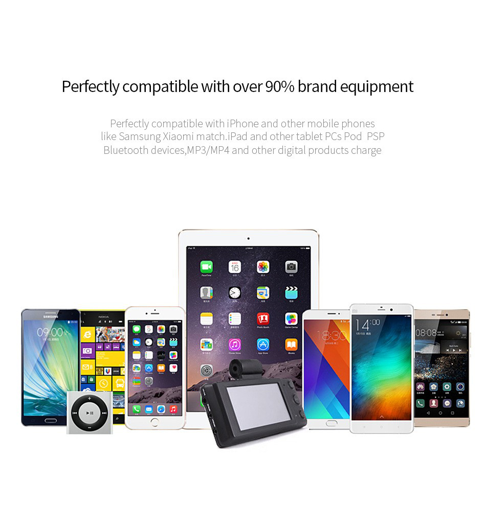 USB Charger for iPhone 6 7 LED Liget 2 Ports 5V 2A EU Plug Chargers Adapter Mobile Accessories Wall Charging For Xiaomi Samsung
