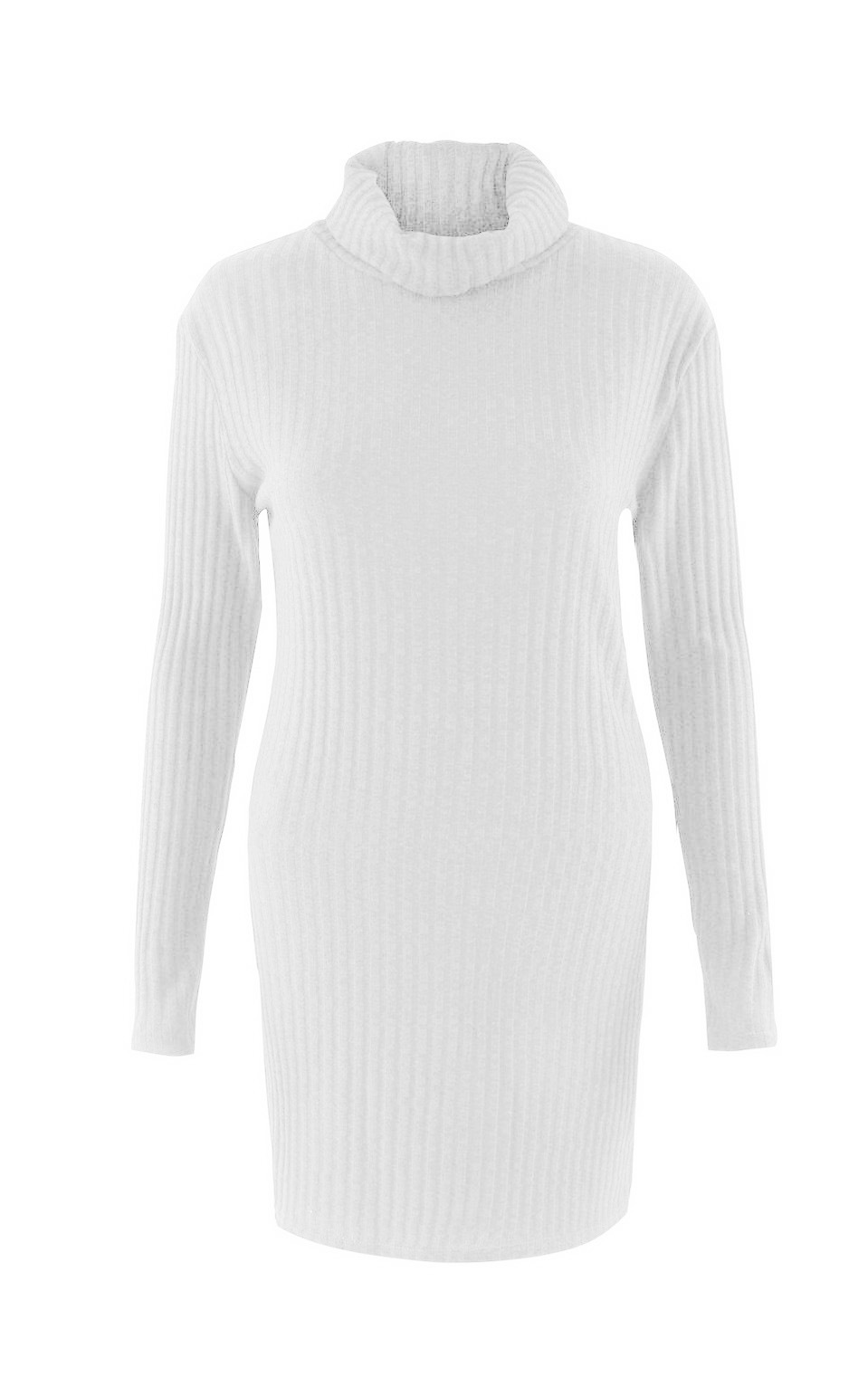 Turtleneck Long knitted pullover sweater, Women's Jumper, Casual Sweater 41