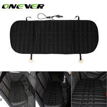 Car Rear Seat Heated Cushion Backseat  Heating Pad Cover Hot Warmer HI/LO Mode for Winter Car Sets Car Heater Pad 4.2*1.6ft
