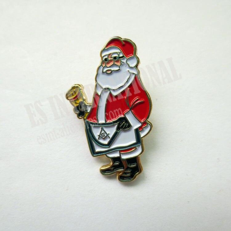 Masonic Lapel Pins Badge Mason Freemason B58 Santa Claus scotland apron