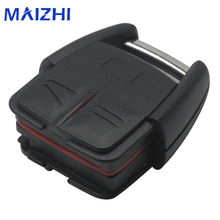 maizhi Uncut Blade Car Key Case Shell for Vauxhall Opel Frontera Omega 3 Buttons No Chip Car Key Case Flip Fob Remote Car Cover(China)
