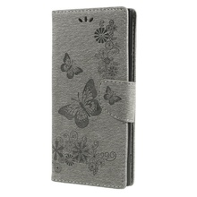 Buy DULCII Cover Sony Xperia XA1 Ultra Cover Cases Butterfly Flower PU Leather Folio Wallet Case Sony Xperia XA1 Ultra Case for $3.64 in AliExpress store