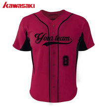Kawasali Brand Custom Baseball jersey Shirt Women & Mens Sports Softball Top Jerseys Sublimations Breathale Practice Shirts(China)