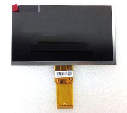 7 inch 86V Tablet HD LCD display 50P long cable 7300101463 e231732 1024*600 Screen Digital Panel Replacement Free shipping<br><br>Aliexpress