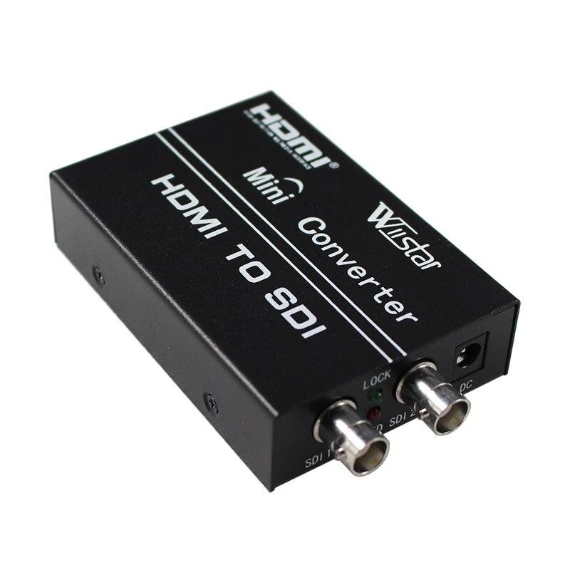 Wiistar HDMI to SDI converter,HDMI to 3G SDI display 1080p,hdmi+hdmi switcher to sdi+sdi splitter Free shipping<br><br>Aliexpress
