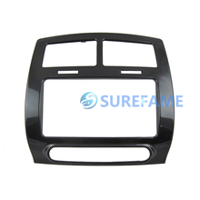 Free Shipping Double Din Car Audio Panel for Toyota IST, Urban Cruiser, Scion xD Dash Mounting Kit Fascia Bezel Adapter Plate