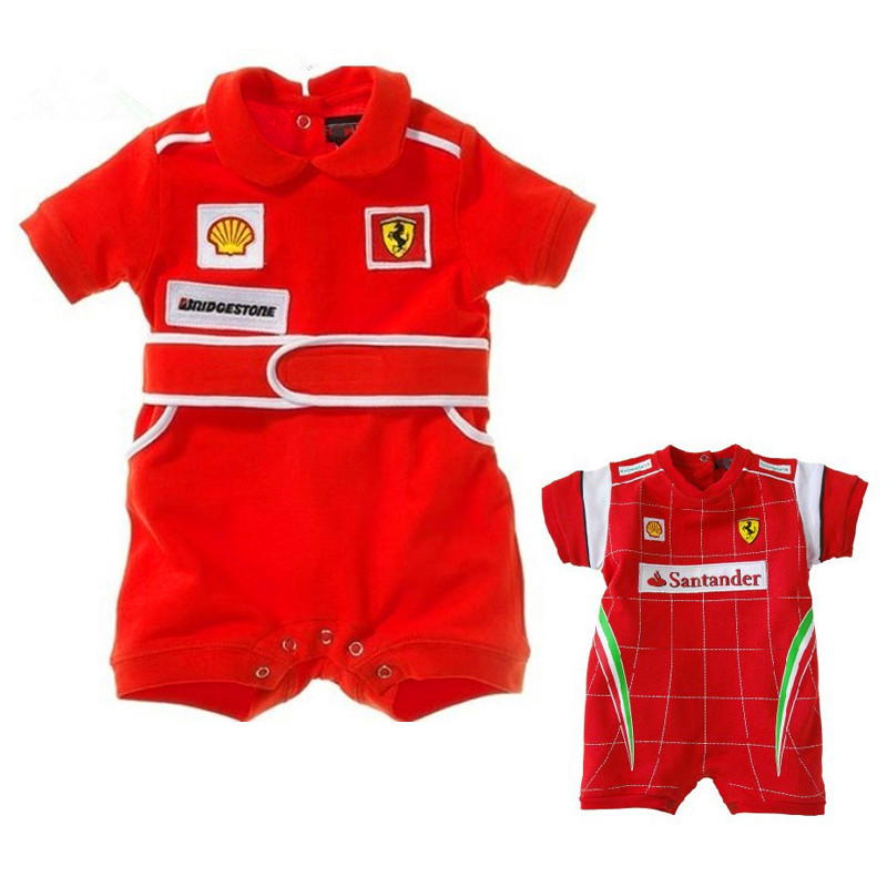 Summer Baby Rompers Racing Suit Red Car Clothes Children Newborn Jumpsuit Kids Boy Clothing Roupas Bebes Infantil Girl Clothes<br><br>Aliexpress