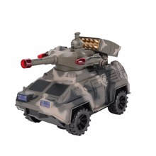 1:14 Universal Electric Military Armored Vehicle Toys For Kids Boys Simulation Armored Cars Turret Rotation Light Music Gift(China)