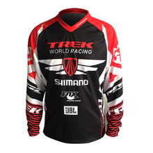 Hot sell! NEW FOR TREK SHIMANO moto Jersey MX MTB Off Road Mountain Bike DH Bicycle moto Jersey DH BMX motocross jersey