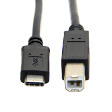 USB-C USB 3.1 Type C Male Connector to USB 2.0 B Type Male Data Cable for Laptop & Macbook & Cell Phone(China)