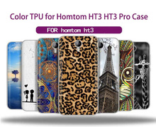2017 Shell Covers Phone Cases for Homtom HT3 HT3 Pro Case Silicone Colorful TPU Ultra Thin Microsoft Protective Cases