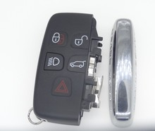 New Replacment Car Remote Key shell for Land Rover Range rover 3 Buttons Folding Flip Key Case  auto parts 1pc