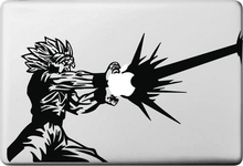 Dragon Ball GoKu Cartoon for apple Sticker Macbook Skin Air 11 12 13 Pro 13 15 17 Retina Decal Loptop Wall Car Vinyl Logo Case