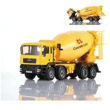 KDW 1:50 Scale Diecast Cement Mixer Toy car engineering car toy alloy car models mixer truck car model toys Gifts for children
