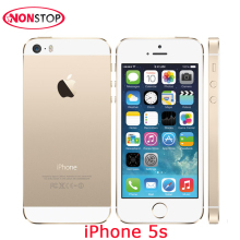Unlocked iPhone 5s 16GB 32GB 64GB ROM IOS Used Apple iPhone White Black Gold GPS GPRS IPS LTE Smartphone Cell Phone iPhone 5s
