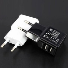 Buy Etmakit Hot 5V 2A/1A Universal Travel USB Charger Adapter Wall EU Plug Phone Smart Charger iPhone 5S 6S Tablet Samsung S4 5 for $1.42 in AliExpress store
