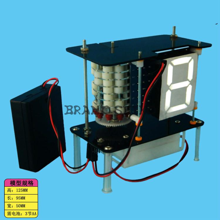 Digital Tube Coding Experimental Model Of Scientific Equipment Diy Manual Production Popular Science Kit<br><br>Aliexpress