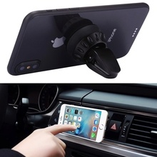 Joyroom Universal Car Air Vent Outlet Phone Holder Stand Silicone Sucker Mount for iPhoneX Samsung Galaxy S8 Air Vent GPS Holder