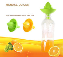 1 Pc En Plastique Main Manuel Orange Citron Jus De Presse Squeezer Pratique Fruits Presse-agrumes Presse-agrumes Fruits & Légumes Outils